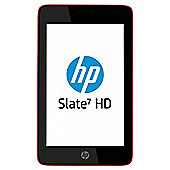 "HP Slate HD 7"" 16GB Tablet with 3G Data Package Included – Red"