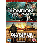 London Has Fallen & Olympus Has Fallen DVD