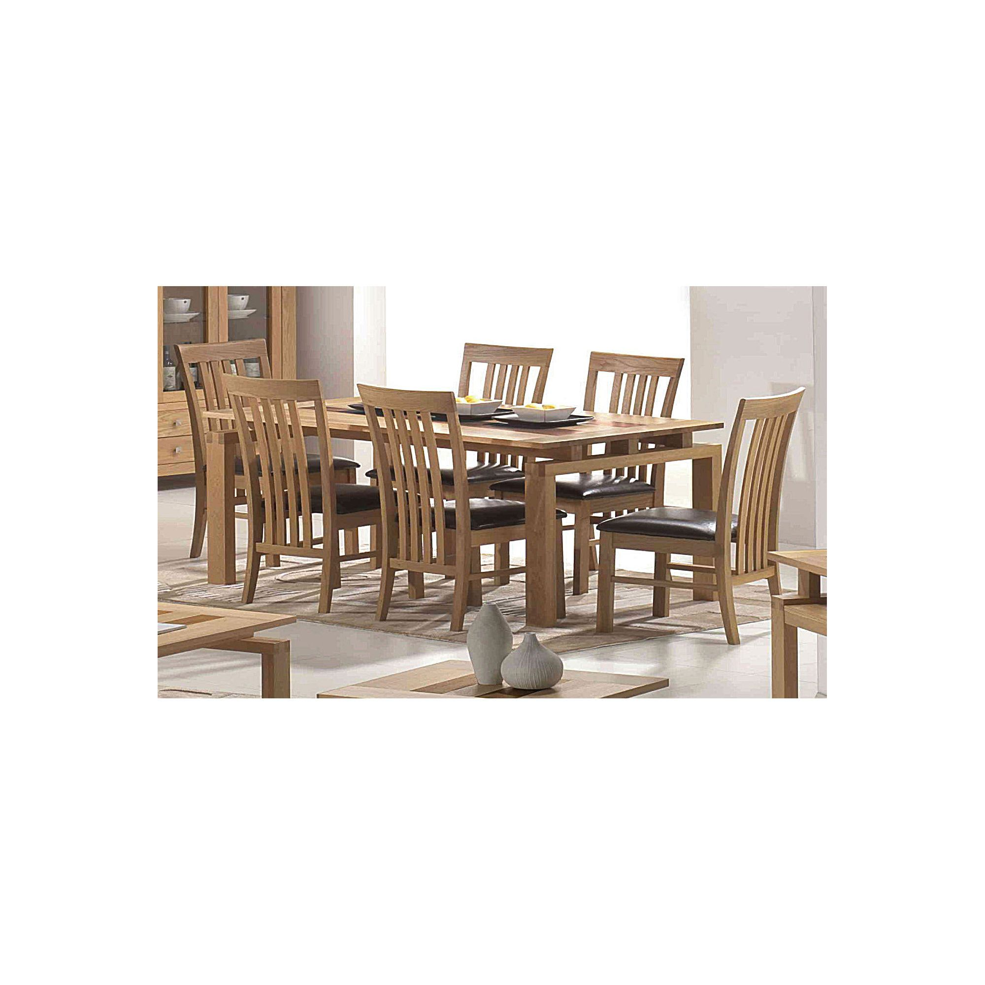 Heartlands Ravenna Solid Oak 7 Piece Dining Set at Tescos Direct