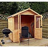 Mercia Traditional Overlap Wooden Summerhouse, 7x5ft