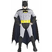 Child Muscle Chest Batman Super Hero Large
