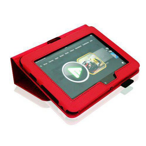 U-bop Neo-Orbit Midi Flip Case Red - For Amazon Kindle Fire HD