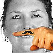 Fingerstache - Moustache Temporary Tattoos