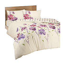 Dreams 'N' Drapes Eleanor Duvet Set in Pink - Single