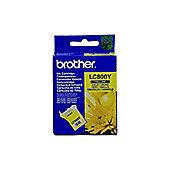 Brother LC800Y Yellow Ink Cartridge (Yield 400 Pages)