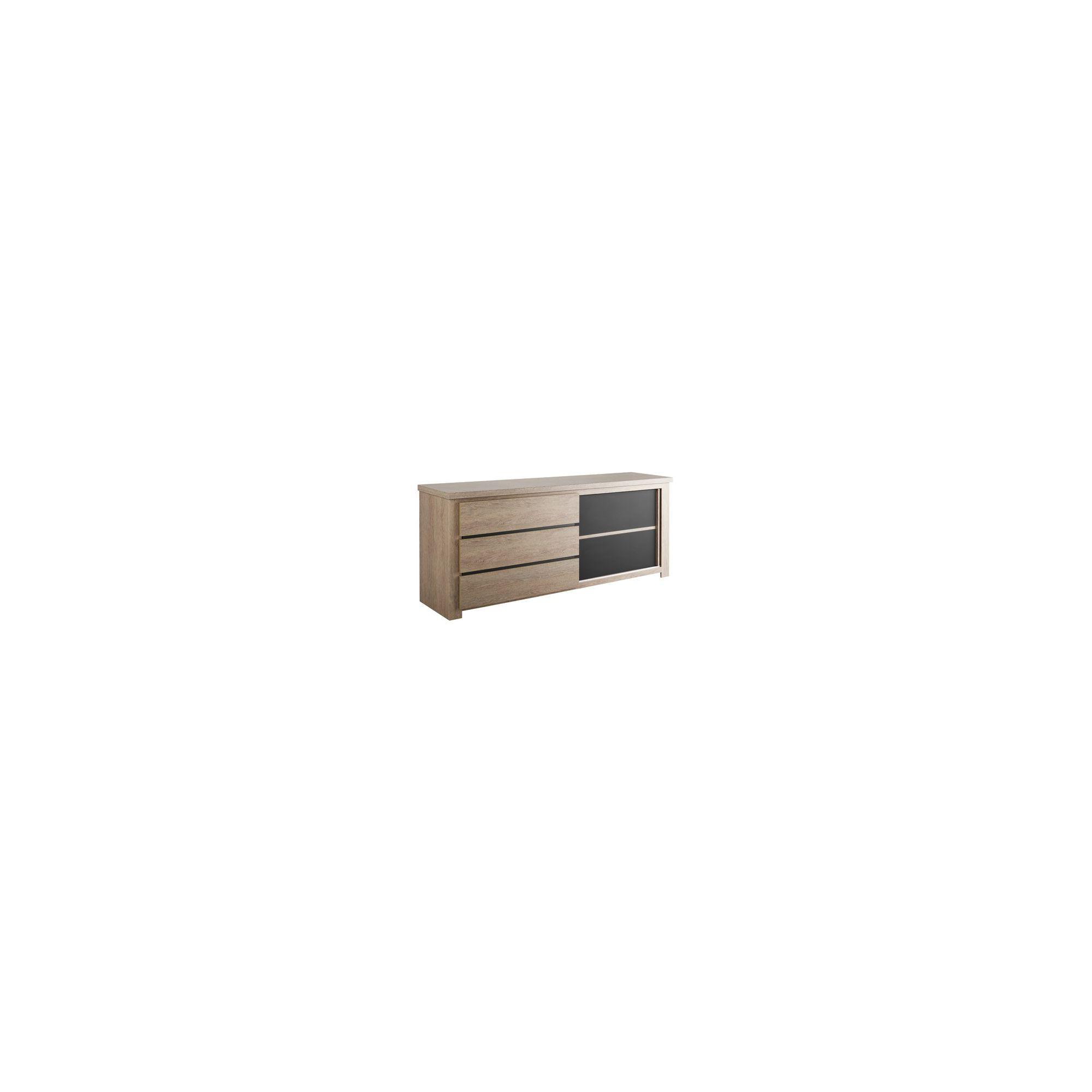 Parisot Tosca Sideboard in Ash Oak at Tesco Direct