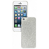 iPhone 5 and iPhone 5s Glitter Case Silver