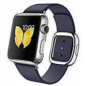 Apple (38mm) iWatch With Midnight Blue Modern Buckle - Large