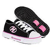 Heelys Pure Black/Pink Kids Heely X2 Shoe - Black