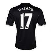 2013-14 Chelsea Third Shirt (Hazard 17) - Black