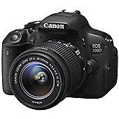 Canon EOS 700D +EFS 18-55mm STM