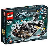 LEGO Agents Tremor Track 70161