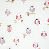 Birdhouse Wallpaper - Pink
