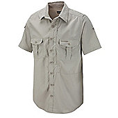 Craghoppers Mens Nosilife Insect Repellent Short Sleeve Shirt - Beige