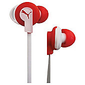 Puma In-Ear Buds Sports Headphones - White