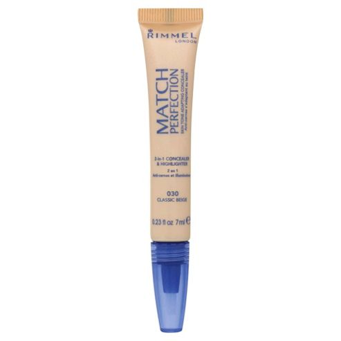 Rimmel Match Perfection Illuminating Concealer Classic Beige