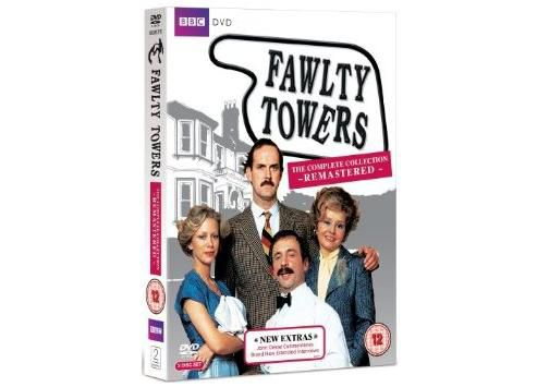 Fawlty Towers: Complete Fawlty Towers (DVD Boxset)