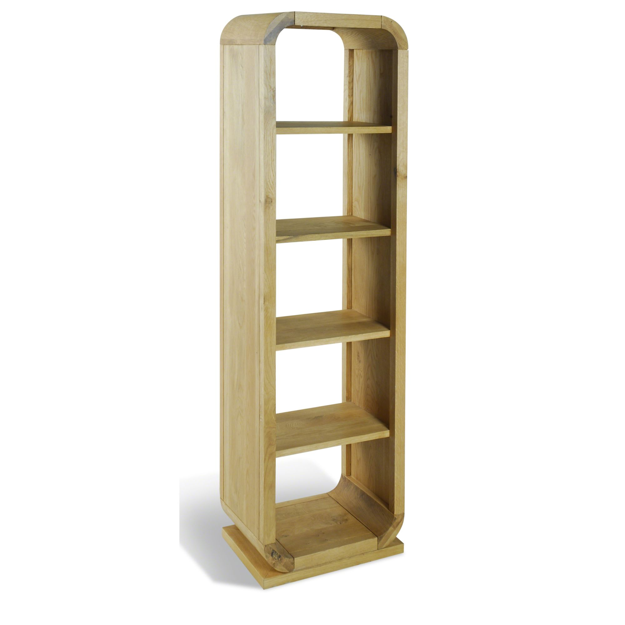 Oceans Apart Cadence Oak Open Back Four Shelves Unit - Oak at Tesco Direct