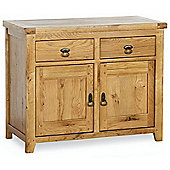 Kelburn Furniture Veneto Rustic Oak 2 Door Sideboard