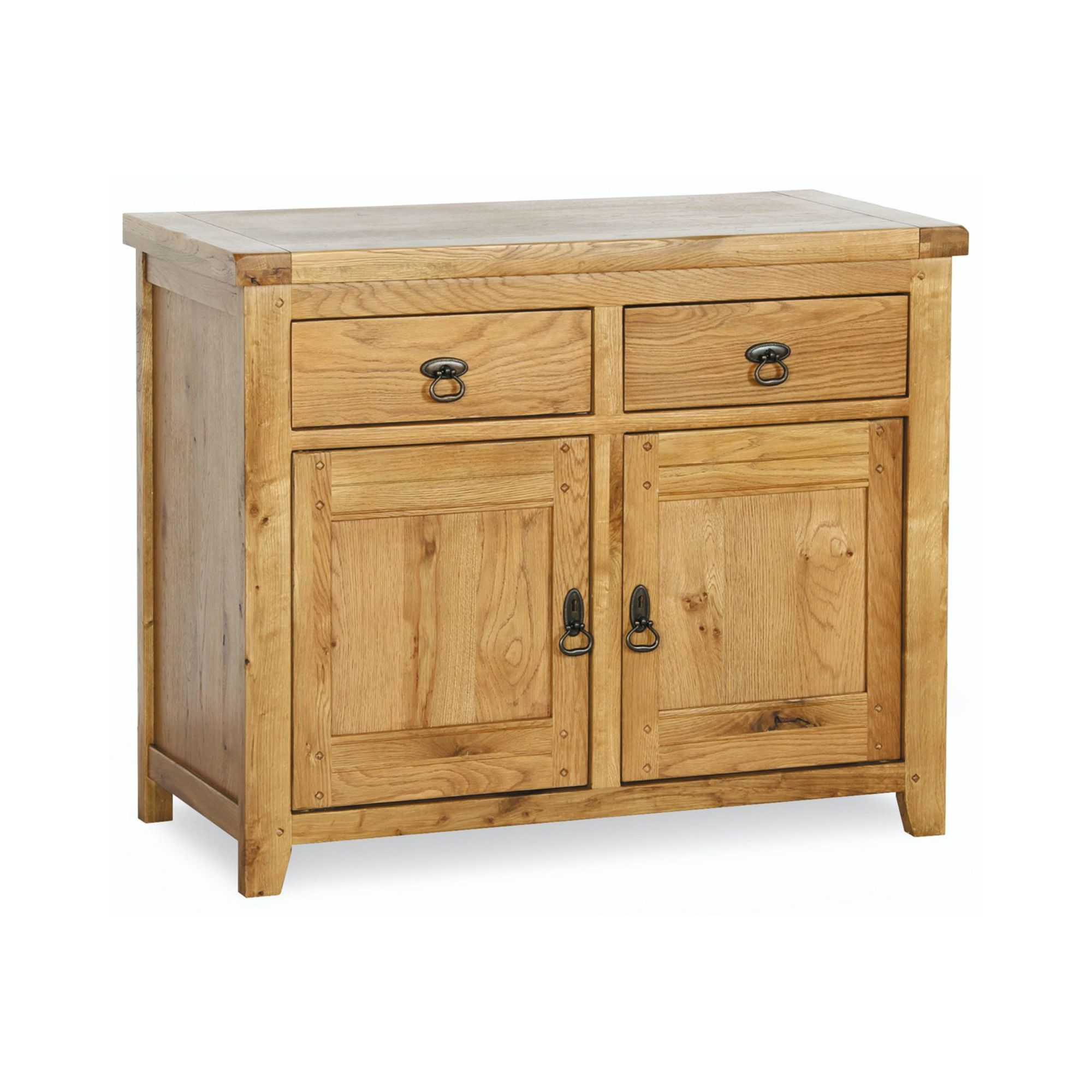 Kelburn Furniture Veneto Rustic Oak 2 Door Sideboard at Tesco Direct