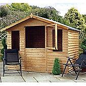 7ft x 5ft Overlap Summerhouse + Stable Door 7 x 5 Garden Wooden Summerhouse 7x5