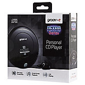 Groov-e Portable CD Player, Black