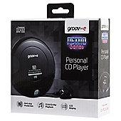 Groov-e Portable CD Player, Black