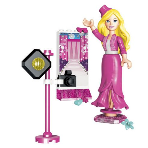 Mega Bloks Barbie Build 'n' Style Barbie and Friends