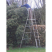 Henchman Aluminium Maxi Hi-Steps Garden Ladder