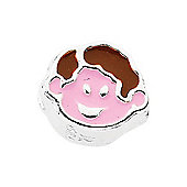 Amore & Baci Junior Dark Haired Boy Bead