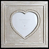 Large Driftwood Effect Photo Frame - Beige