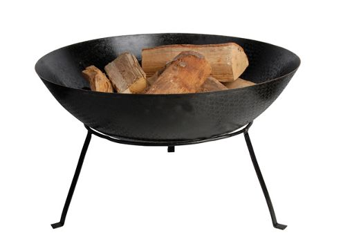 Steel fire bowl