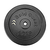 Gold Coast 20kg Cast Iron Weight Plate