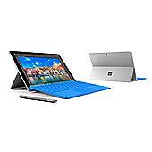 "Microsoft Surface Pro 4, 12.3"" Tablet, Core M3, Windows 10, 4GB RAM - Blue Keyboard Cover Bundle"