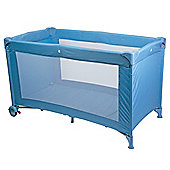 Safetots Sleep and Go Travel Cot Blue