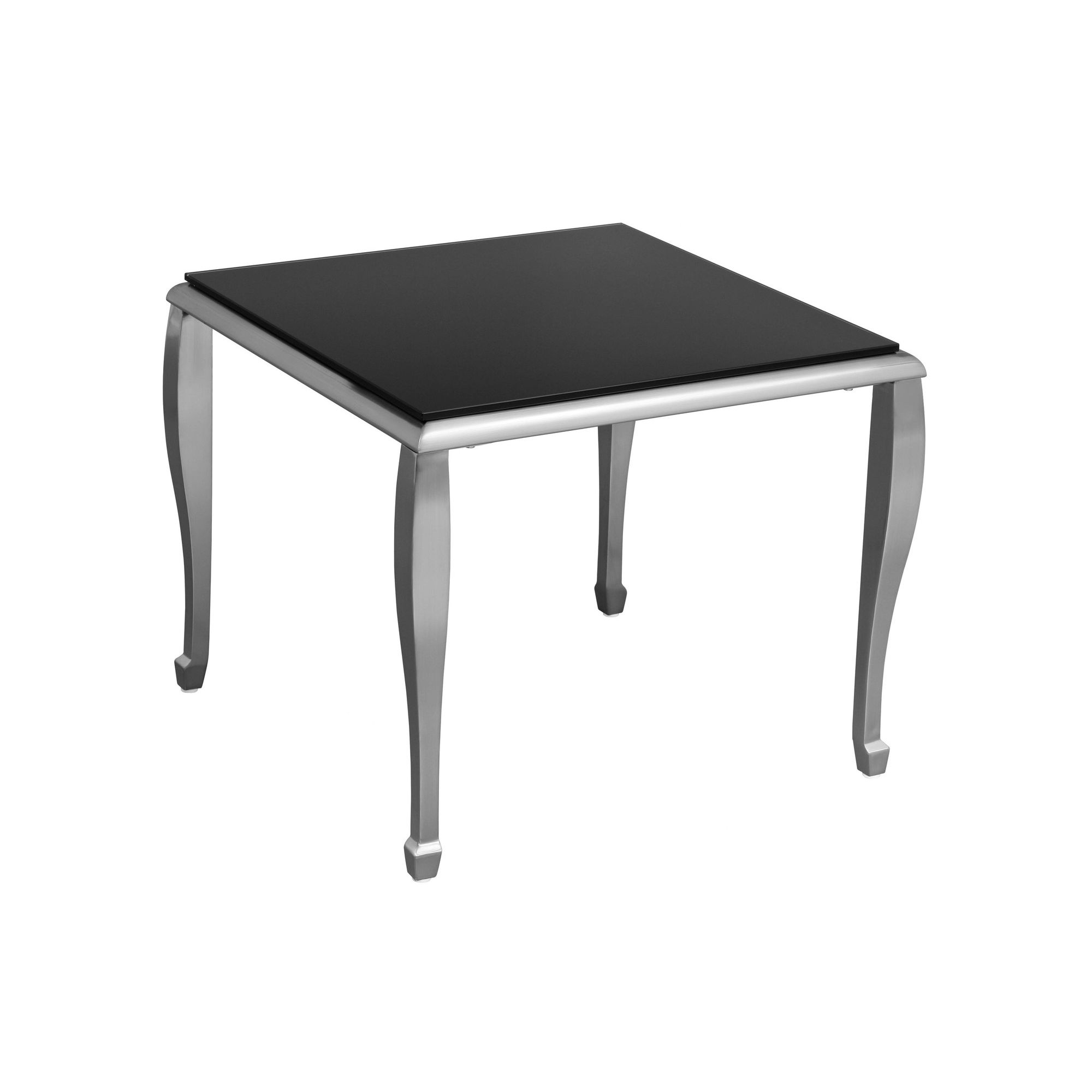Premier Housewares End Table with Nickel Plated Legs at Tesco Direct