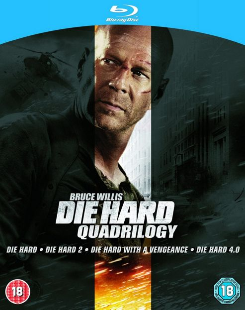 Die Hard Quadrilogy - Die Hard/Die Hard 2/Die Hard With A Vengence/Die Hard 4.0