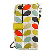 Orla Kiely Multi Stem Wrsitlet Case with Wallet for iPhone 5