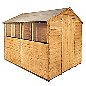 BillyOh 20M Rustic Economy Overlap Apex Shed