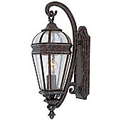 Savoy House Via Fete One light Wall Bracket in Tortoise Shell with Silver