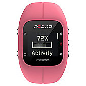 Polar A300 Pink Fitness Watch with Heart Rate Monitor