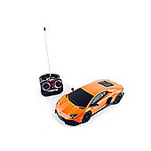 1:16 Remote Control Orange Lamborghini Vehicle