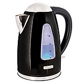 Lloytron E1506BK 1.7 litre 3kw 360 Rapid Boil Cordless Kettle - Black Steel