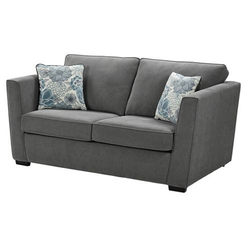 Buy oxley sofa bed dark grey from our sofa beds range tesco for Sofa bed tesco