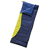 Tesco Rectangular Sleeping Bag, Blue