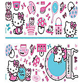 Hello Kitty, 50 Sparkly Wall Stickers