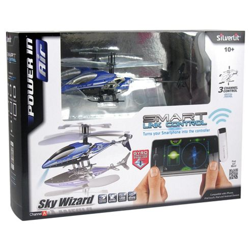 Silverlit Sky Wizard 3-Channel Remote Controlled Gyro Helicopter