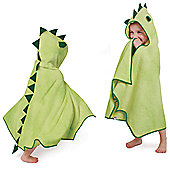 Cuddle Roar Hooded Towel, Green