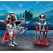 Playmobil Special Plus Knight with Weapon Stand