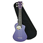 Bugs Gear Lorenzo Ukulele with Bag - Purple